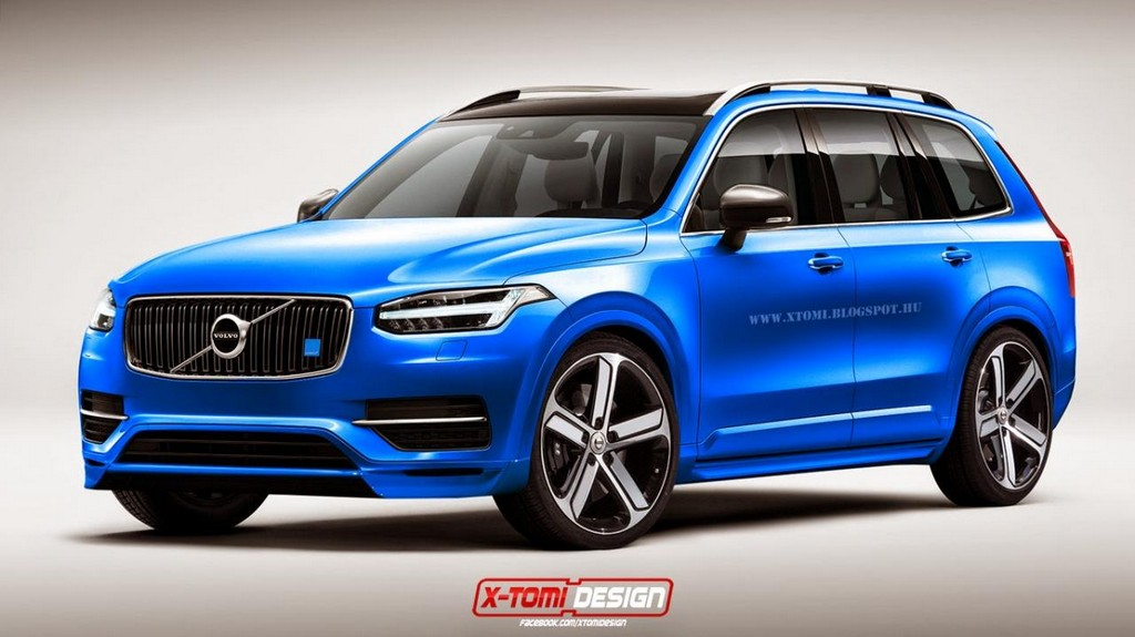 2015 volvo xc90 polestar imagined. Black Bedroom Furniture Sets. Home Design Ideas
