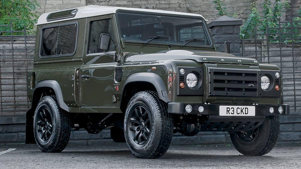 Military Green Kahn Design Defender Wide Track