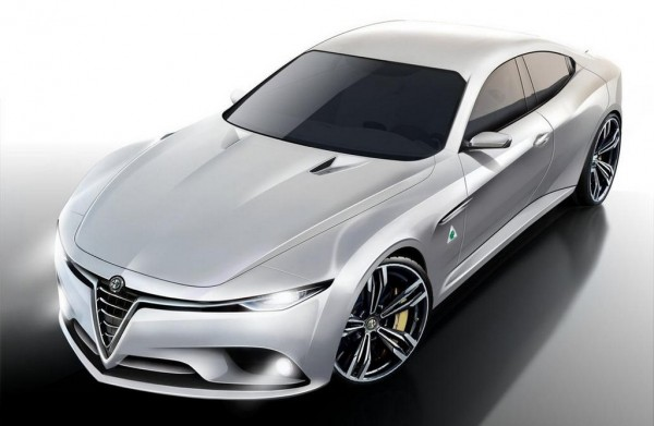 alfa romeo giulia concept 0 600x391 at Alfa Romeo Giulia Imagined in New Renderings