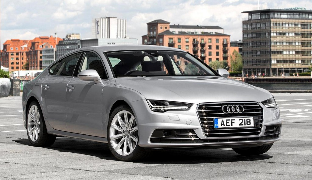 Самая экономичная Audi A7 TDI Ultra Edition