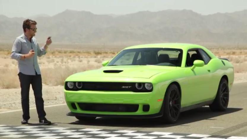 Dodge Challenger Hellcat Green