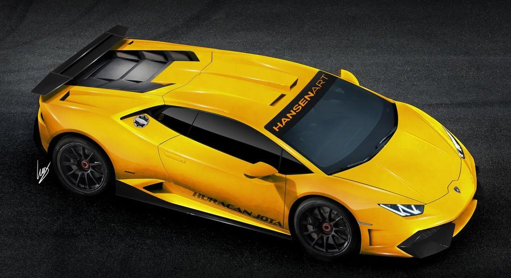 Lamborghini Huracan Jota Rendering By Hansen Art