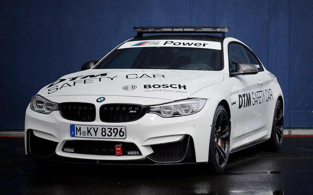 Bmw M4 Dtm Safety Car Looks Awesome In Live Photos
