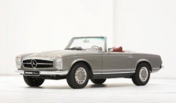 1971 Mercedes SL Pagoda 0 600x351 at Mercedes SL Pagoda by Brabus on Sale for $322K
