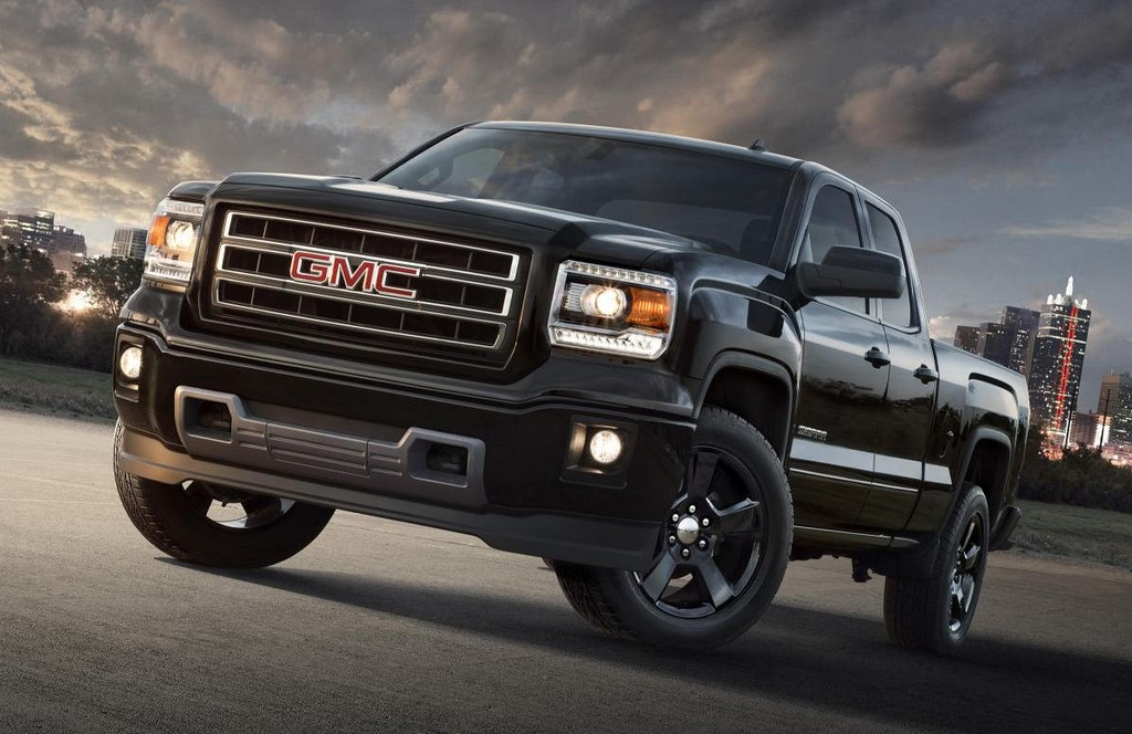 2015 gmc sierra elevation edition announced. Black Bedroom Furniture Sets. Home Design Ideas