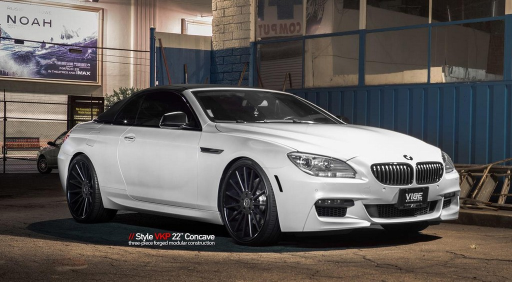 eye candy bmw 6 series cabrio on vellano wheels. Black Bedroom Furniture Sets. Home Design Ideas