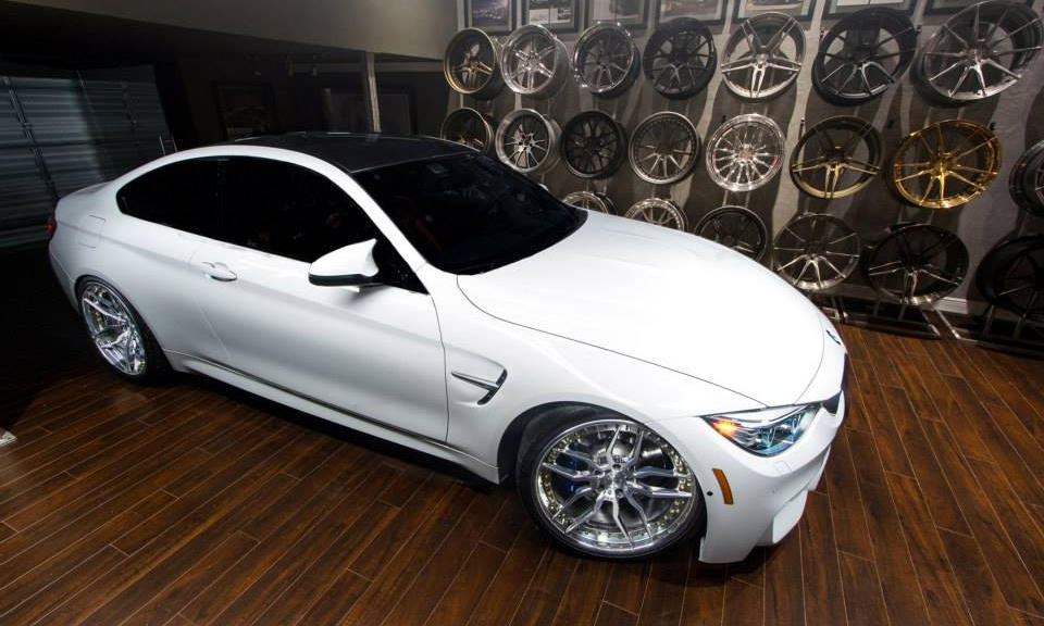 BMW M4 and ADV1 Wheels Make a Good Couple