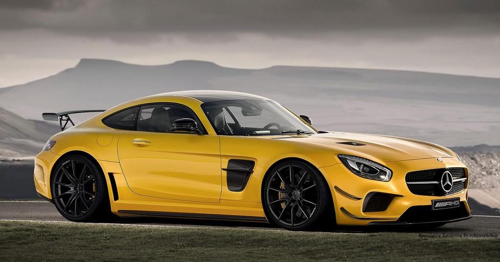 Superb Rendering Previews Mercedes Amg Gt Black Series