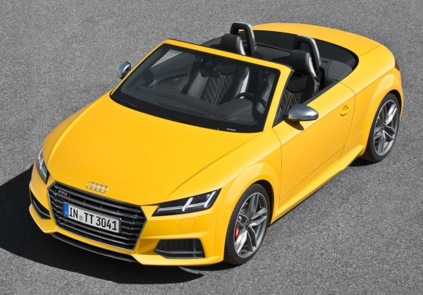 2015 Audi TT Roadster Officially Unveiled