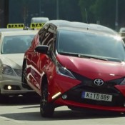 "Aygo ad 175x175 at Toyota Aygo Gets Cheeky TV Spot Called ""Crazy"""