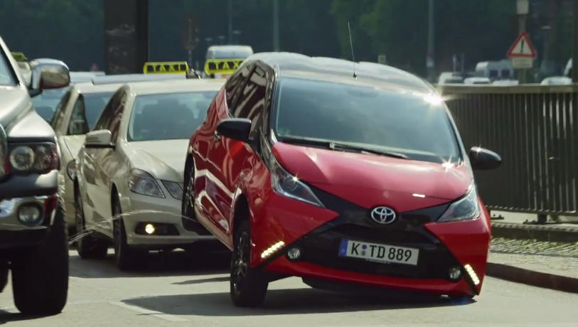 toyota aygo  cheeky tv spot called crazy