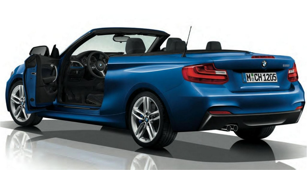 First Look: BMW 2-Series Convertible M Sport