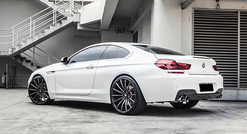Bmw 650i Looks Gorgeous On Forgiato Wheels