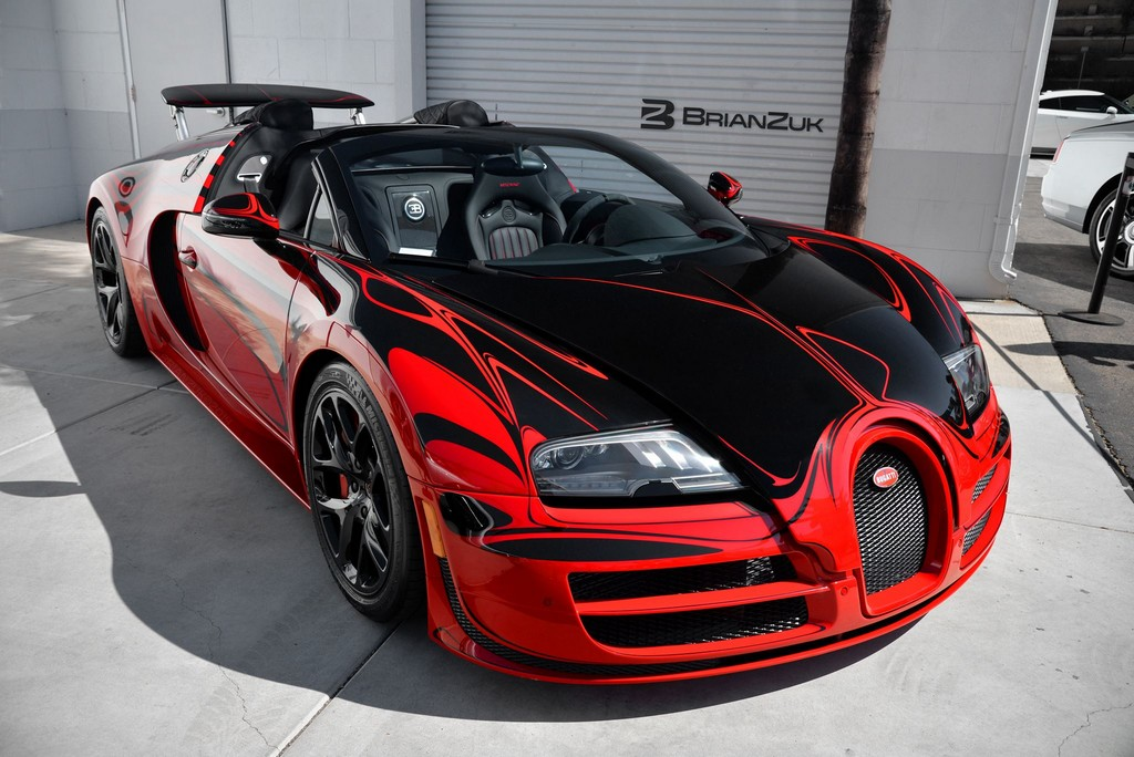 Sights And Sounds Bugatti Veyron Vitesse L Or Rouge