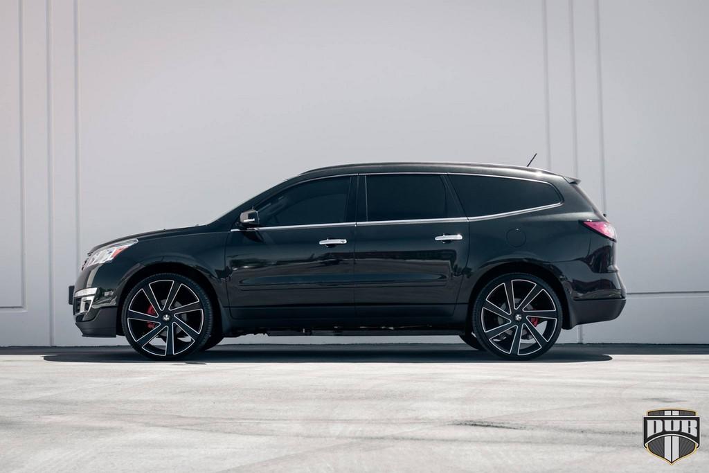 Dub Wheels Chevrolet Acadia For Gangsta Moms Motorward