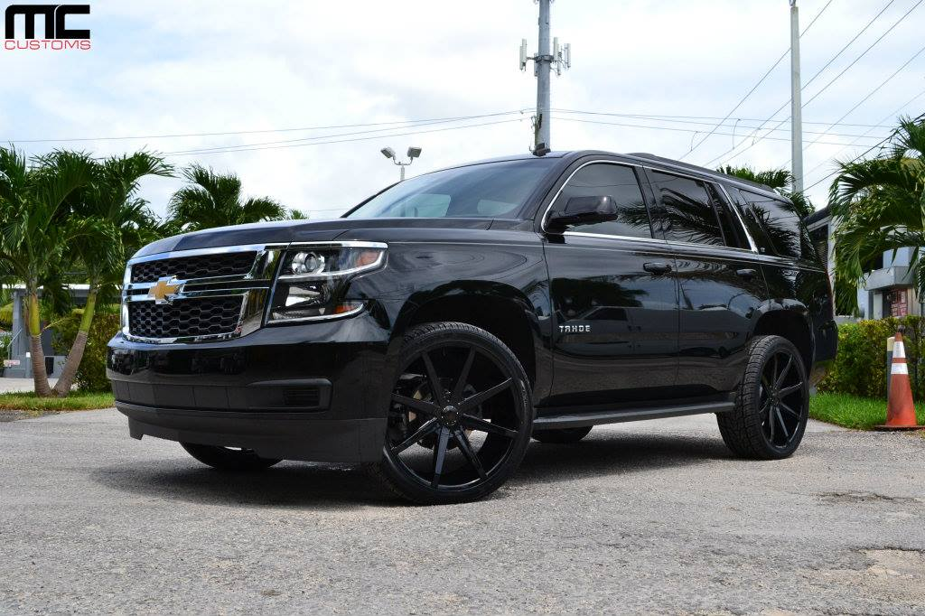 Dub Wheels Chevrolet Acadia For Gangsta Moms Motorward