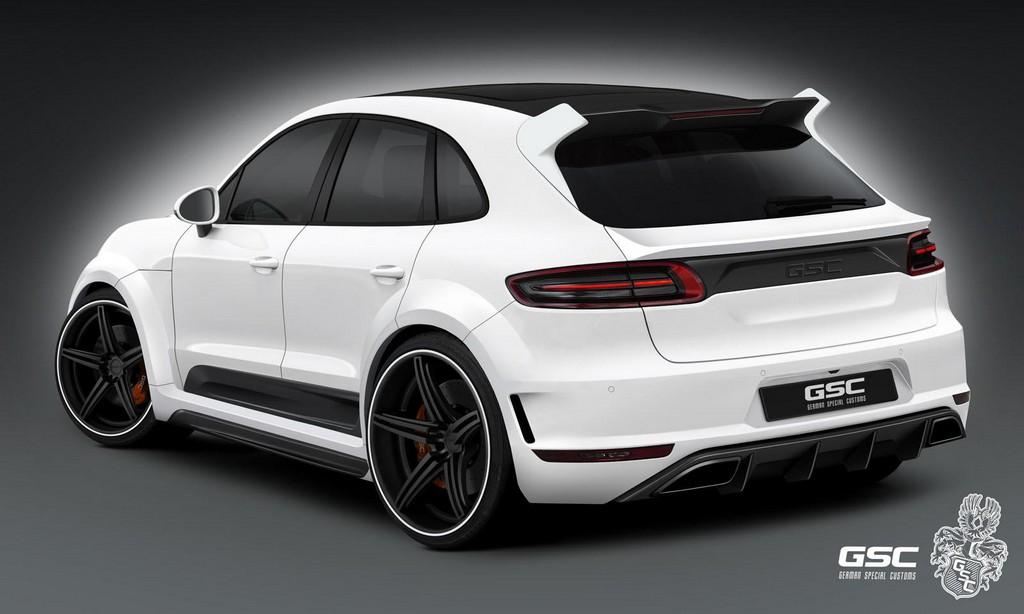 Gsc Porsche Macan Styling Kit Preview