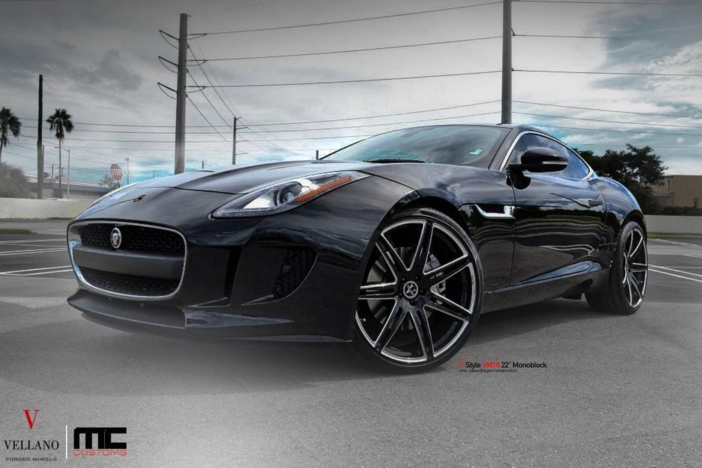 Jaguar F Type Vellano 2 175x175 at Jaguar F Type Coupe on Black    Jaguar F Type Black Coupe