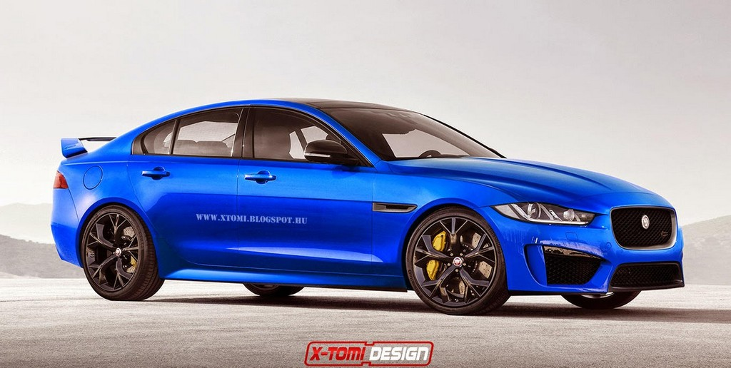 already jaguar xe r s imagined in rendering. Black Bedroom Furniture Sets. Home Design Ideas