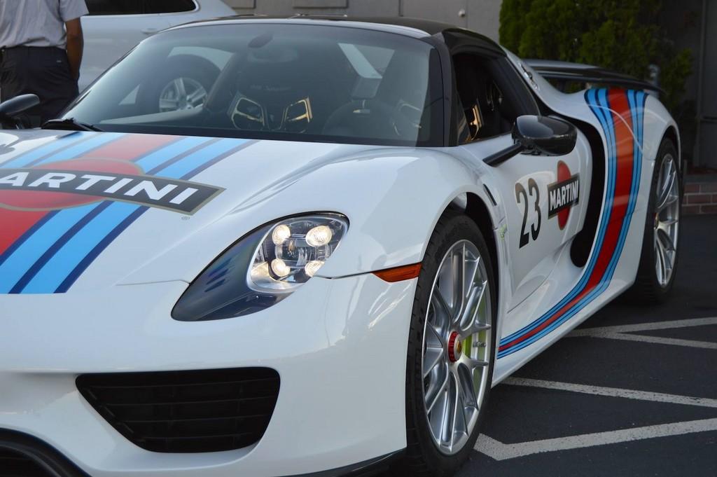 Фары Porsche 918 Spyder Martini
