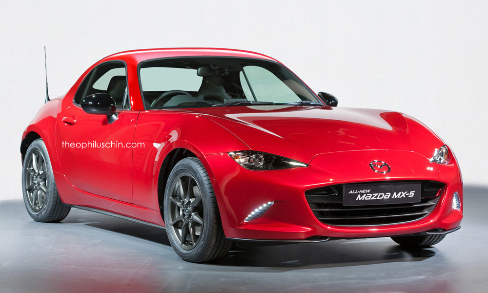 mazda mx 5 coupe rendered as gt86 rival. Black Bedroom Furniture Sets. Home Design Ideas