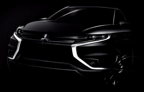 Mitsubishi Outlander PHEV Concept S 600x383 at Mitsubishi Outlander PHEV Concept S Set for Paris Debut
