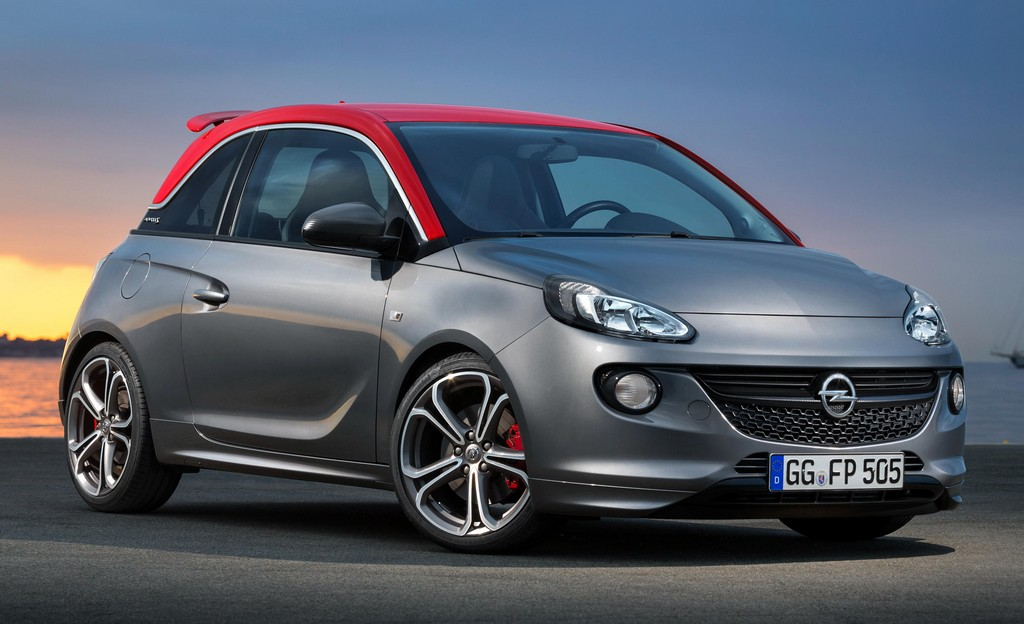 Opel Adam S 0 at Production Opel Adam S Unveiled Ahead of Paris Debut
