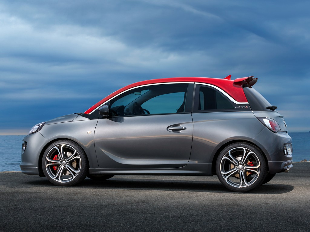 production opel adam s unveiled ahead of paris debut. Black Bedroom Furniture Sets. Home Design Ideas