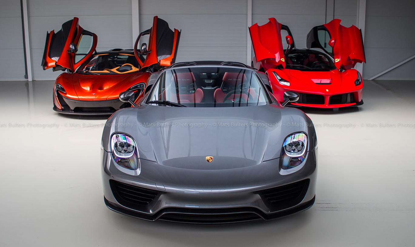 dream photoshoot laferrari mclaren p1 porsche 918. Black Bedroom Furniture Sets. Home Design Ideas