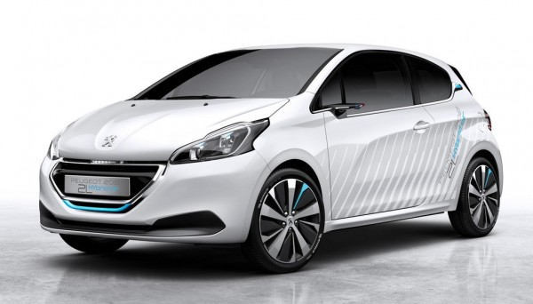 Peugeot 208 HYbrid Air 1 600x342 at 141 mpg Peugeot 208 HYbrid Air 2L Unveiled