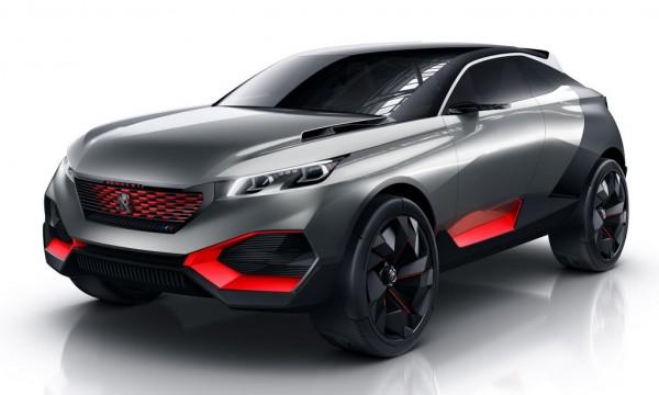 Peugeot Quartz Concept Headed for Paris Debut