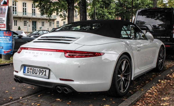 Porsche 991 C4S 0 600x365 at Lovely Spot: Porsche 991 C4S in Germany's Early Autumn