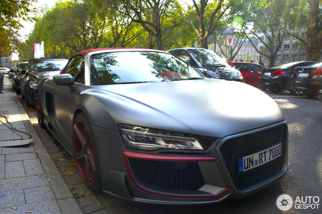 regula tuning audi r8 spotted in the wild. Black Bedroom Furniture Sets. Home Design Ideas