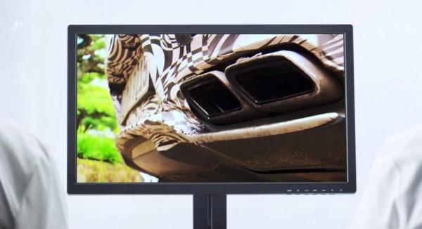 amg gt teaser 600x326 at Mercedes AMG GT Gets One Last Whimsical Teaser