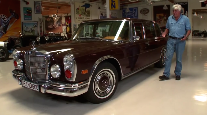 check out jay leno s 1972 mercedes 600 kompressor. Black Bedroom Furniture Sets. Home Design Ideas