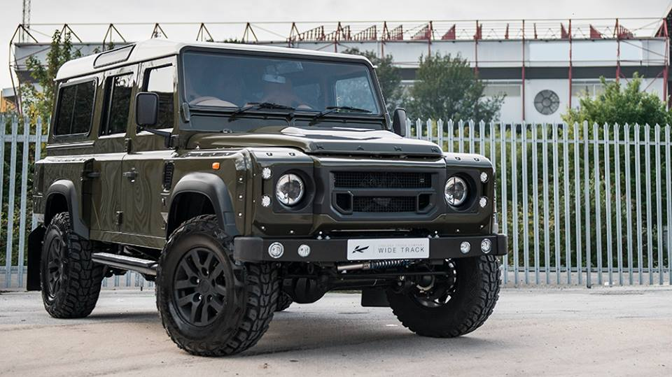 ultimate defender kahn design land rover 110. Black Bedroom Furniture Sets. Home Design Ideas