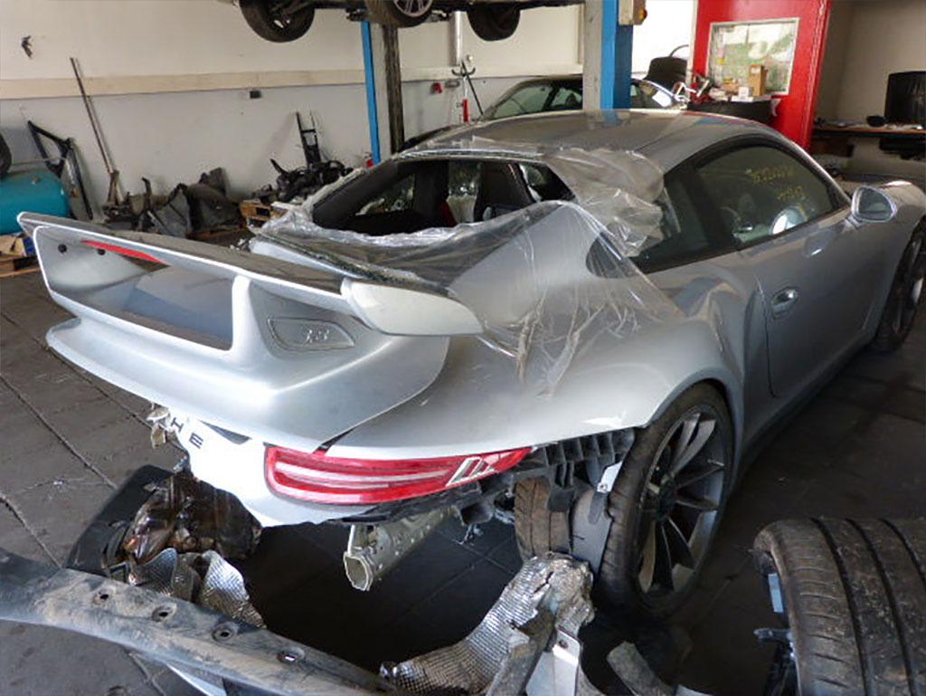 Фото | Разбитый Порше 911 ГТ3