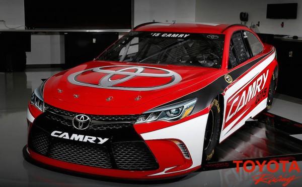 2015 camry nascar 0 600x373 at 2015 Toyota Camry NASCAR Revealed