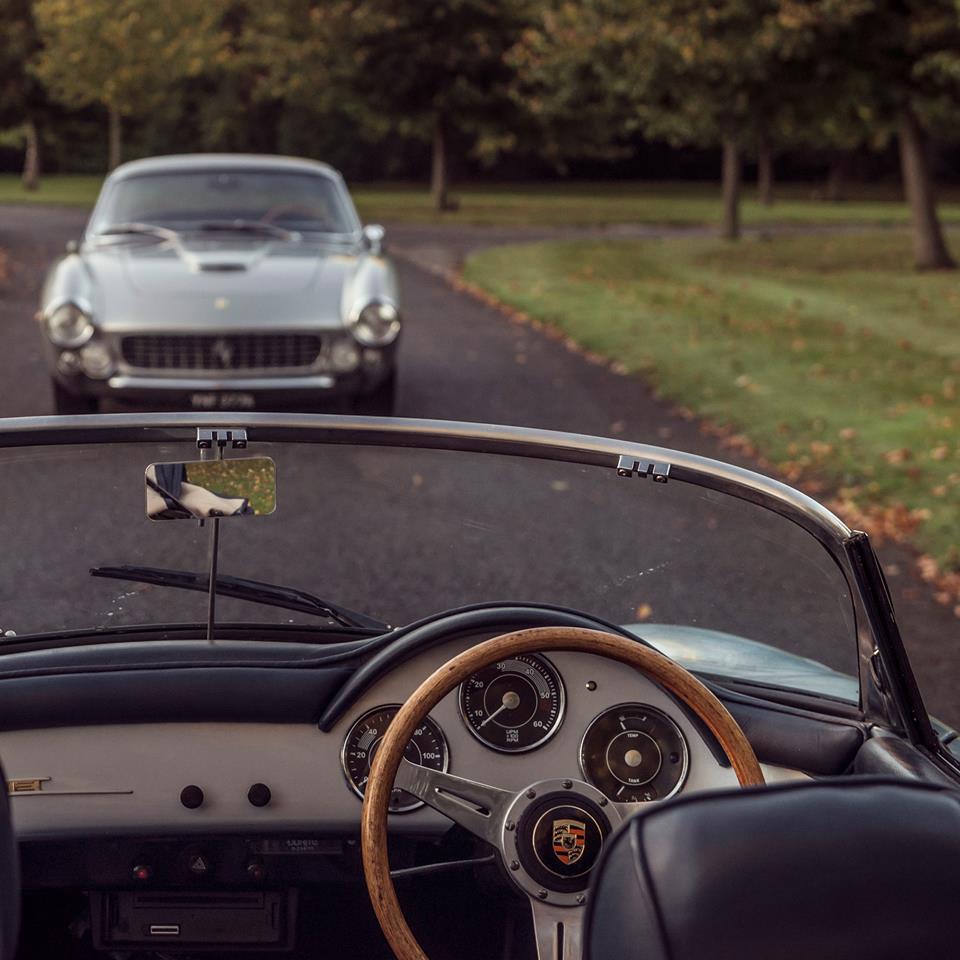 Фото | Porsche 356 Speedster и Ferrari 250 Luso