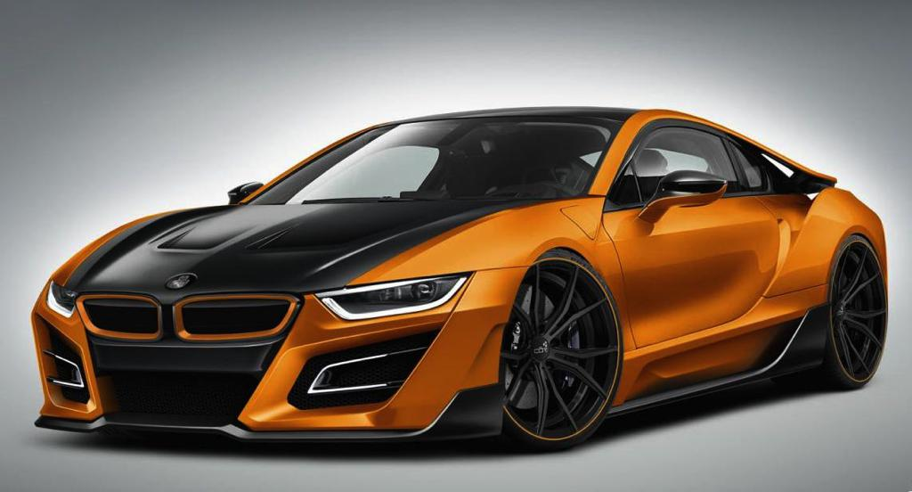 german special customs bmw i8 itron announced. Black Bedroom Furniture Sets. Home Design Ideas