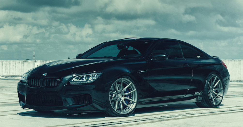 Adv1 Equipped Bmw M6 By Wheels Performance