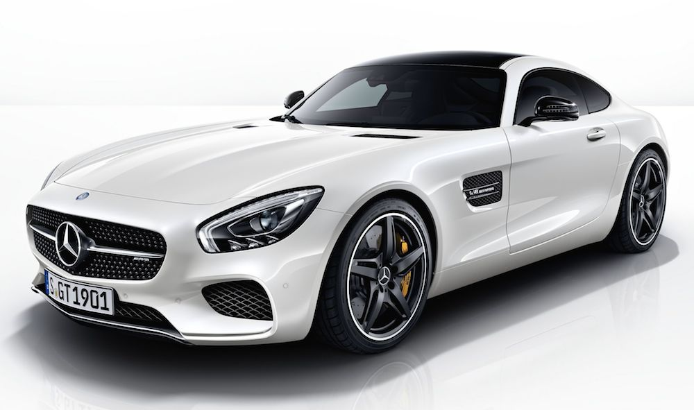 mercedes amg gt night package announced. Black Bedroom Furniture Sets. Home Design Ideas