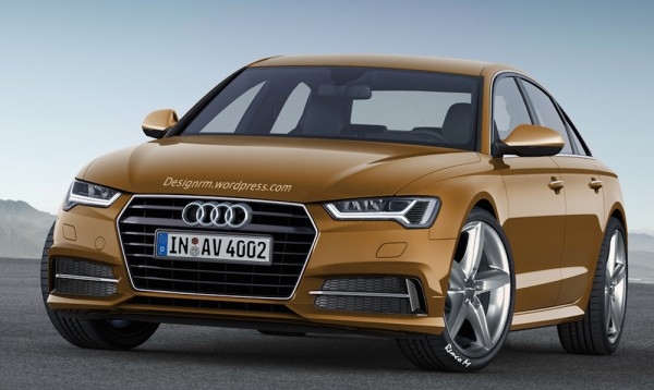 Next Gen Audi A4 1 600x358 at Next Gen Audi A4 Rendering Shows Why Change Is Needed