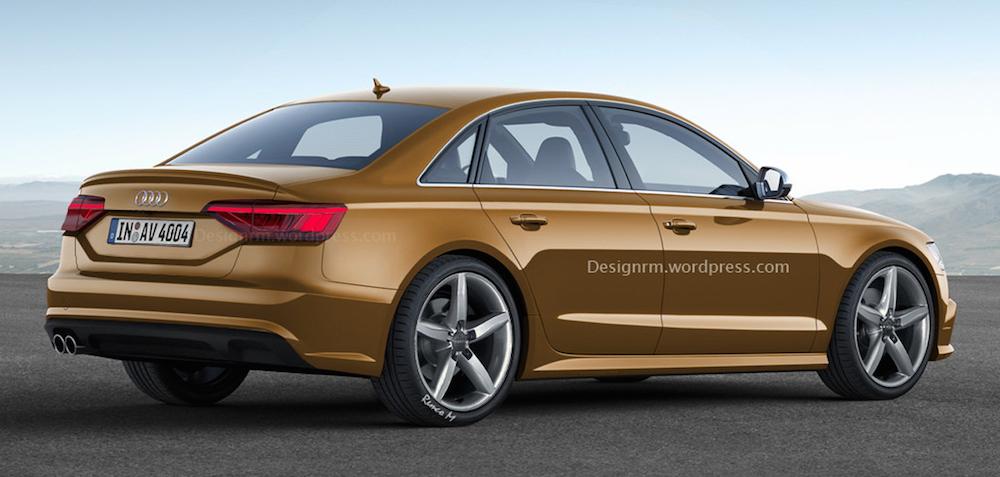 Новая Audi A4, неофициальный дизайн