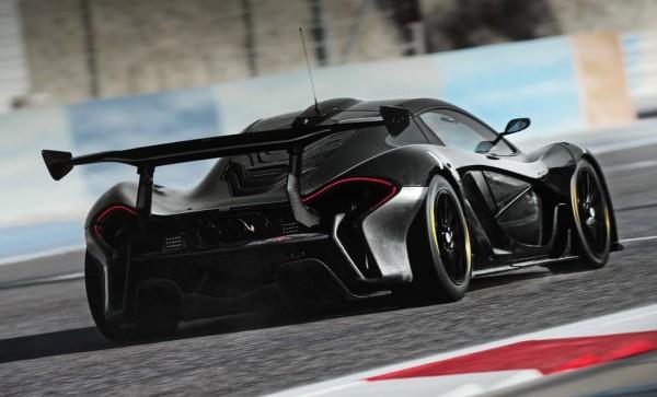 P1 GTR 0 600x363 at McLaren P1 GTR Revealed Further: Interior & Driver Program