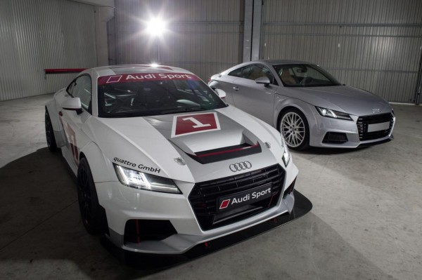 audi tt cup 0 600x399 at Audi TT Cup Revealed for One Make Racing Series