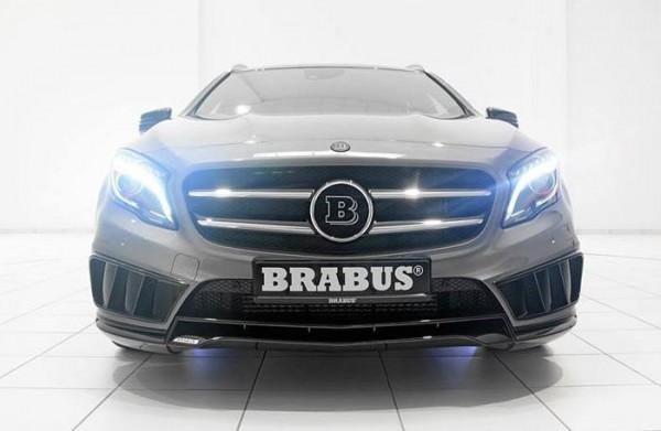 brabus gla 0 600x391 at Aggressive Body Kit for Brabus Mercedes GLA