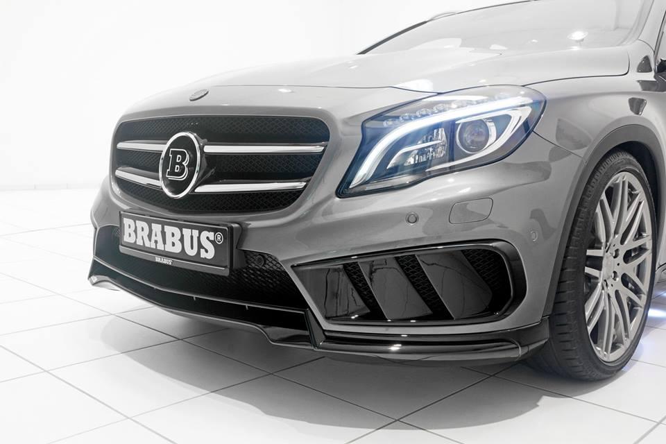 Aggressive Body Kit For Brabus Mercedes Gla