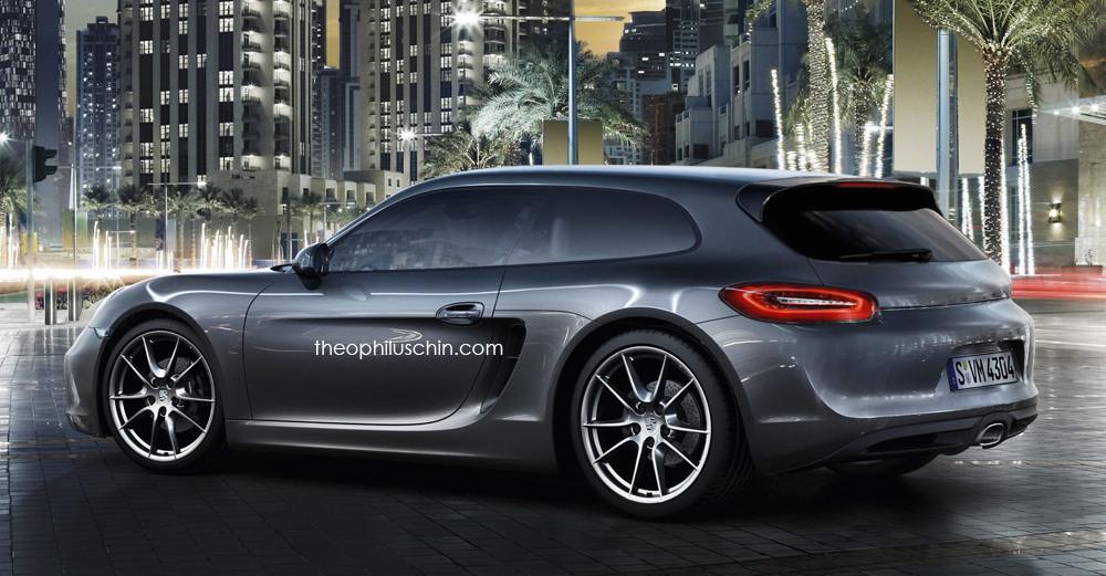 Фото | Porsche Cayman Shooting Brake, неофициально