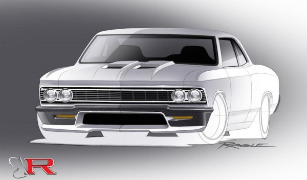 chevelle 600x351 at 980 hp Ringbrothers Chevelle Headed to SEMA